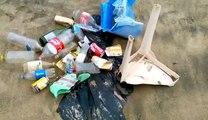 Les emballages et déchets plastiques sont une vraie calamité pour l'océan que j'aime appeler notre 'mère nourricière'