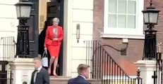 May Asked 'Are You Resigning, Prime Minister?' As She Leaves Conservative Party HQ