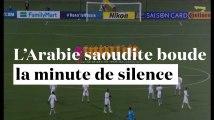 Attentat de Londres : l'équipe de foot de l'Arabie saoudite ne respecte pas la minute de silence