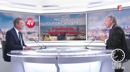 Nicolas Dupont-Aignan invité des 4 Vérités