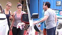 Kareena Kapoor & Saif Ali Khan Spotted At The Gym After Shahid Kapoor & Mira