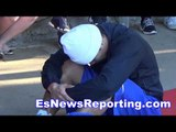 Manny Pacquiao vs Floyd Mayweather Epic Workout Video - EsNews Boxing