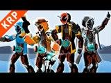 Pivot Kamen Rider Ghost 【04 05 06】Henshin & Finisher【仮面ライダーゴースト】
