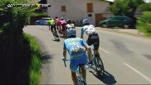 6 coureurs dans l'échapée  / 6 riders in the breakaway - Étape 6 / Stage 6 - Critérium du Dauphiné 2017