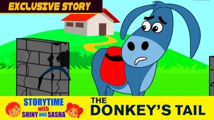 New Kids Stories 2017   The Donkeys Tail   English Story For Kids   Koo Koo Tv   Storytime
