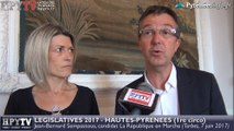 HPyTv Législatives | Jean-Bernard Sempastous candidat En Marche Hautes-Pyrénées 1 (7 juin 2017)
