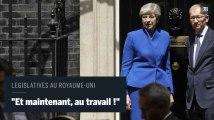 Législatives au Royaume-Uni : « Et maintenant, au travail !», déclare Theresa May après avoir rencontré la reine