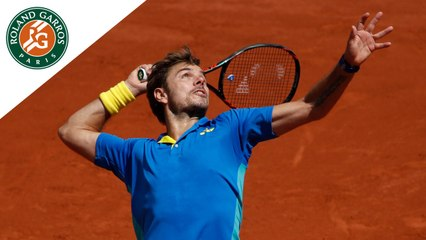 Roland-Garros 2017 : 1/2 finale Wawrinka - Murray - Les temps forts