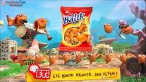 Eti Balık Kraker Halay Reklamı Uzun versiyon,Çocuklar için çizgi filmler