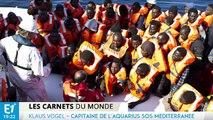 Klaus Vogel : une année au secours des migrants au milieu de la Méditerranée