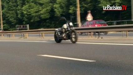 Le mystère de la moto qui roule toute seule sur l'A4