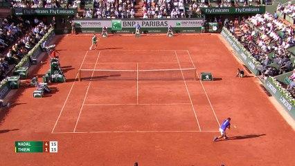 Roland Garros 2017 : 1/2 finale Nadal - Thiem - Les temps forts