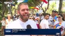 i24NEWS DESK | Annual Gay Pride parade hits Tel Aviv streets | Friday, June 9th 2017
