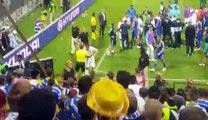 Tuča igrača nakon utakmice Grčka-BiH