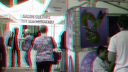 Salon Culture et Jeux Mathématiques 2017 Paris - stand Ars Mathematica