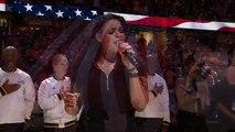 Jordin Sparks' National Anthem Before Finals Game 4