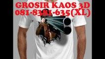 081-8381-635(XL), Kaos 3d Malang, Grosir Kaos 3d Malang, Baju Kaos Oblong Murah Malang