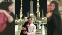 Sajal Ali and Saboor Ali With Their Mother in Masjid-e-Nabawi