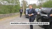 Emmanuel Macron de retour à Oradour-sur-Glane - Politique