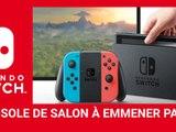 Jeux vidéos du 63 - Présentation La Nintendo Switch