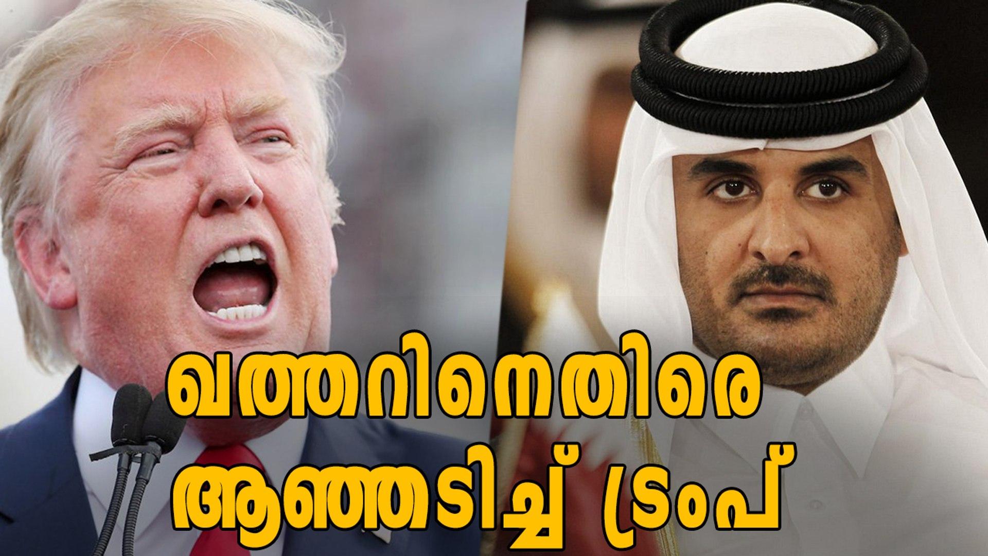 Donald Trump Against Qatar