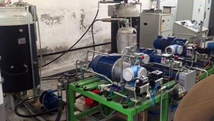 Vidéo 5 - Ligne de production en continue ISC ITALY de panneaux sandwich polyuréthane