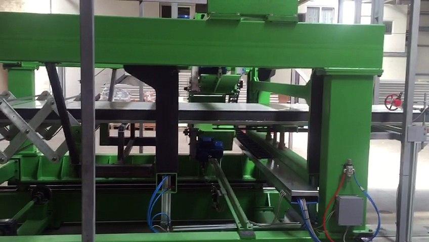 Vidéo 7 - Ligne de production Continue ISC ITALY de panneaux sandwich polyuréthane