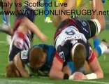 Live International Rugby Sky Sports Italy vs Scotland Streaming