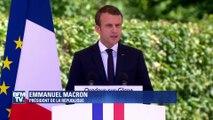 """Macron à Oradour-sur-Glane: """"Le monde était dangereux en 1944. Il l'est encore aujourd'hui"""""""