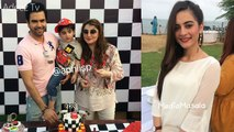 Junaid Khan and his Wife Celebrating 3rd Birthday of their Son Nael