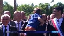 Commémoration du massacre d'Oradour-sur-Glane : Emmanuel Macron à la cérémonie