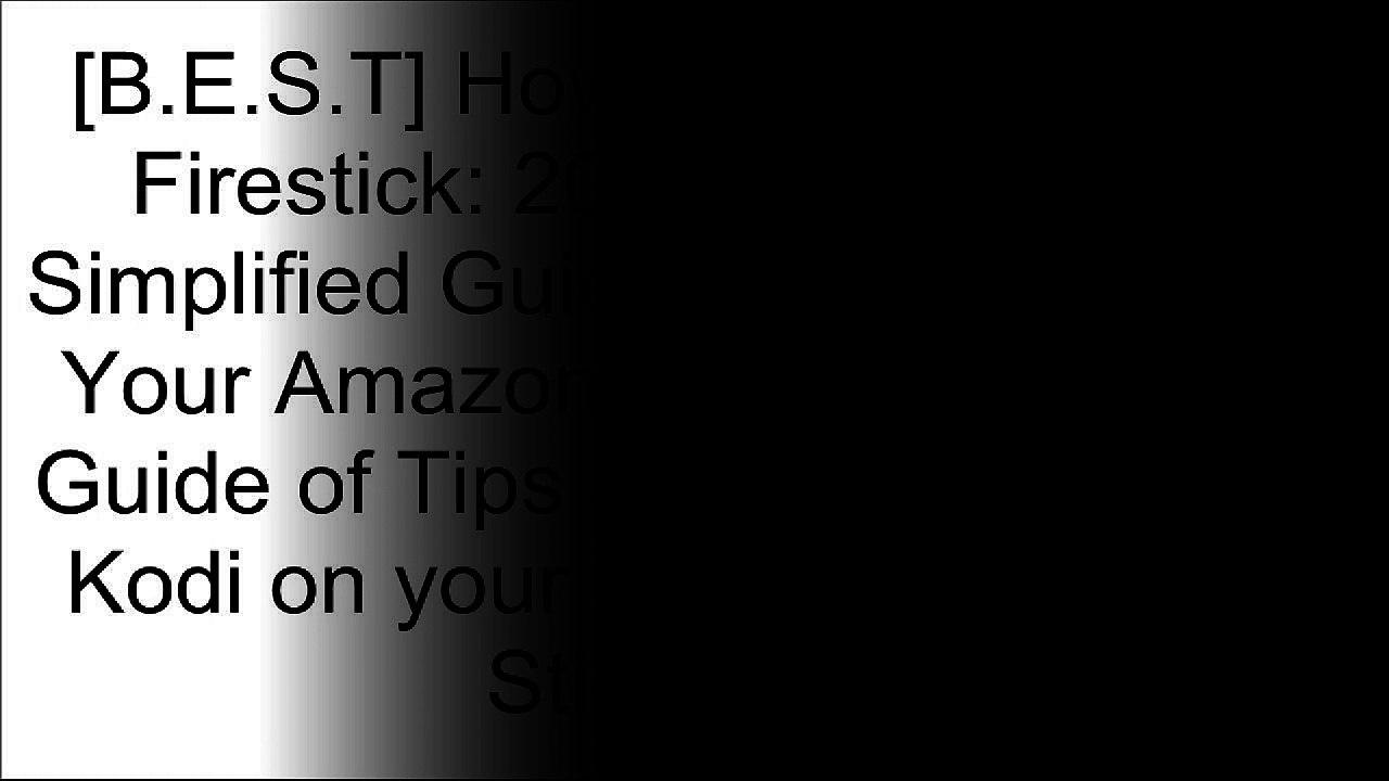 install kodi on amazon fire stick