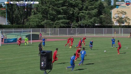 Résumé finale coupe Rhône-Alpes masculine 2017 : MDA Chasselay - FC Echirolles