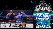 WWE John Cena and Rey Mysterio Vs Big Show and Chavo WWE Smackdown 236 #Berry1