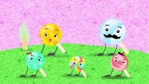 Finger Family Lollipops _ Lollipop F