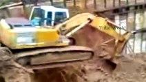 Extreme Excavator Driving Ta