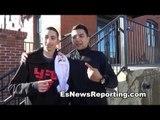 Boxing Latino Justin Bieber Luis Coronel  vs Justin Bieber Seckbach Bets Rios 5K - EsNews