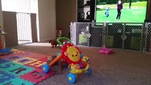 Funny Wiener Dog Steals Babies' Rubber Ducky 2016 - Daily Heart Beat