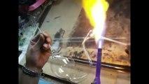 Sorprendente Grande Caliente Soplado De Vidrio Studio Corning Fabricación De Vidrio Soplado De Vidri