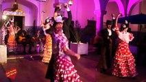 Actuacion del Grupo Coros y Danzas de Ronda  II Festival Internacional Flamenco de Tánger