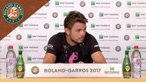 Roland-Garros 2017 : Conférence de presse Stan Wawrinka