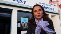 """Législatives 2017. 1er tour. L. Tanguy (LREM, Pont-l'Abbé) : """"Tout n'est pas joué"""""""