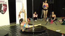 Alexandra Gazdikova Amazing Pole Dance