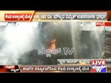 Karwar Road: Fire In KEB Gowdown Due To Short Circuit