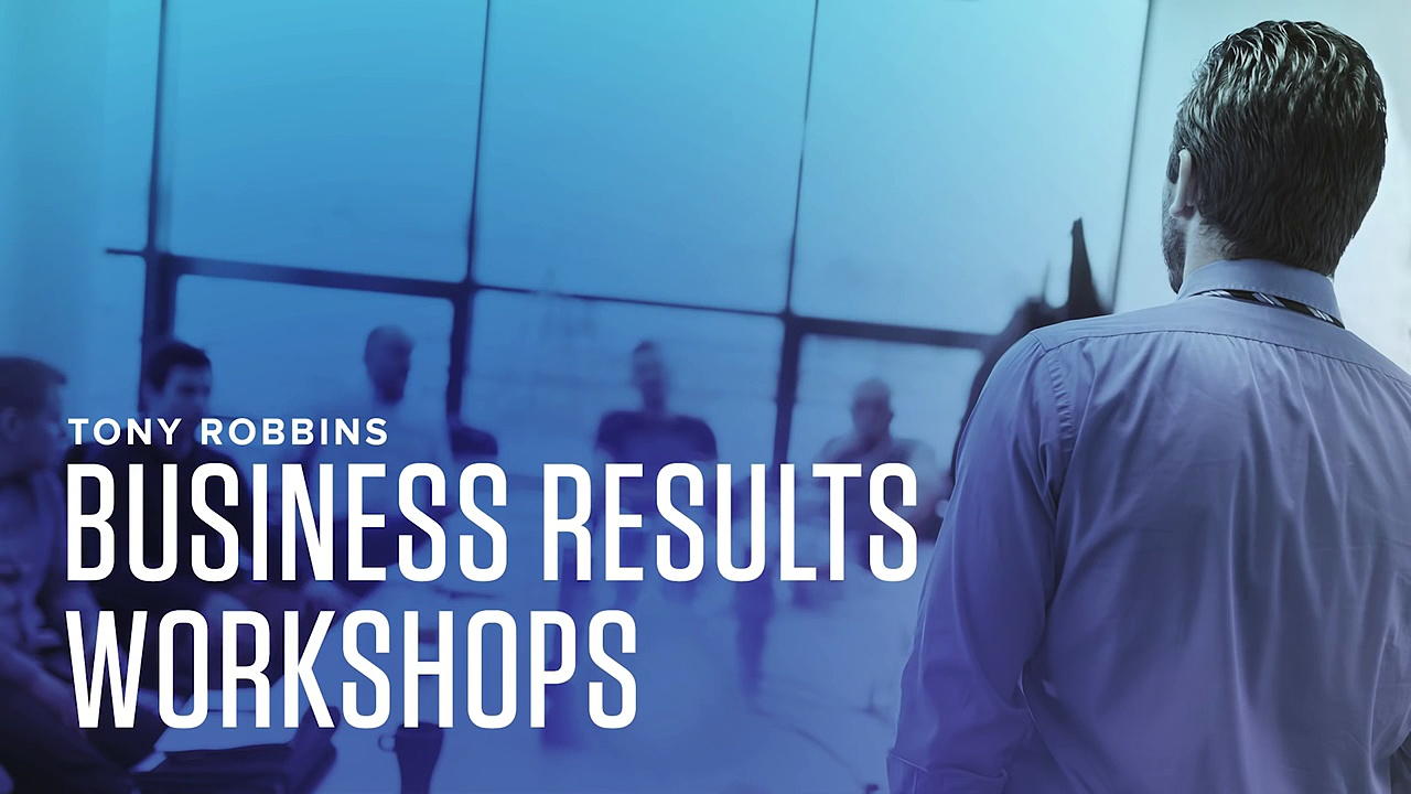 Business Results Coaching  Founder & CIO Ashwin Vasan Tony Robbins