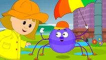 Incy Wincy Spider - Itsy Bitsy Spider - YouTube Nursery Rhymes and Kindergarten Songs for Kids