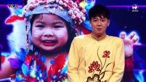 Biệt tài tí hon Tập 5- Bé gái 4 tuổi yêu câu Quang Vinh, Trấn Thành, Chi Pu đọc thơ chúc Tết