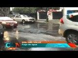 Denuncia ciudadana, Fuga de agua en Colonia del Valle