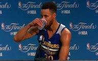 【NBA】Steph Curry Says Warriors Can Beat Cavs  Cavs vs Warriors Game 5  2017 NBA Finals