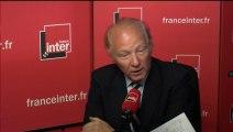 Brice Hortefeux répond aux questions de Léa Salamé sur France Inter
